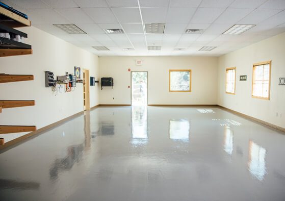 commercial epoxy garage floor coating