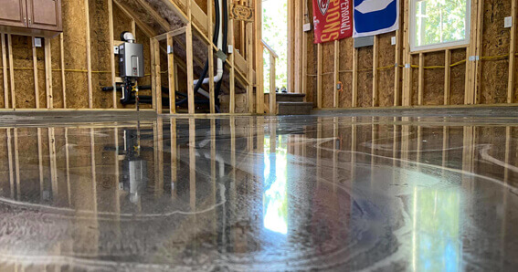 metallic epoxy floor coating Maryland