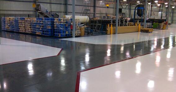 industrial epoxy floor coating system