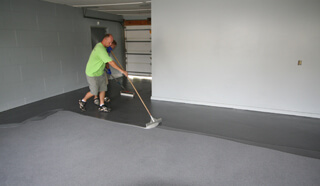 commercial garage floor epoxy